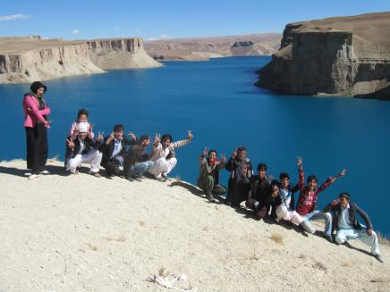 Band-i-Amir: Afghanistan's first National Park and also on UNESCO's world heritage list.