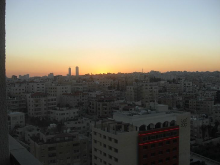 Sunset in Amman