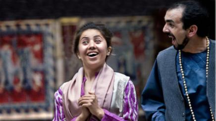"Farzana in Shakespeare's ""Comedy of Errors"""