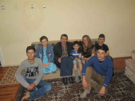 Iraqi family living in Turkey