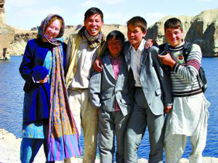 Hakim, Kathy and the Afghan Peace Volunteers