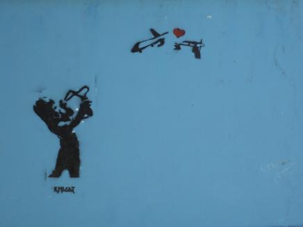 """""""Love will end drone attacks"""""""