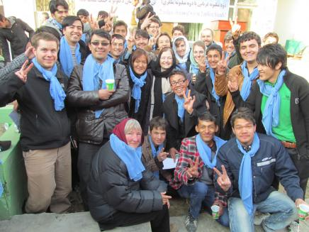 Afghan Peace Volunteers and Peace Delegation