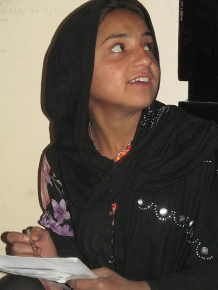 Samia Hopes to Read and Write
