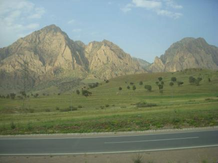Quandil Mountains: The Quandil Mountains in northern Iraq.