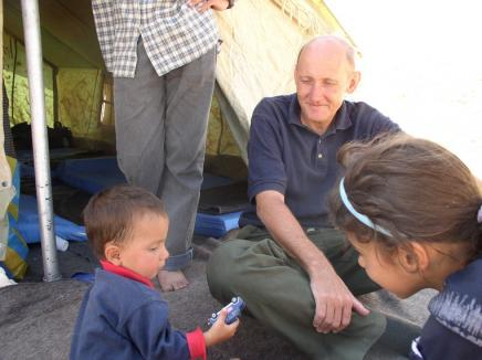Tom Fox at the Syrian border