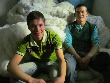 Ali and Abdulhai With Synthetic Wool