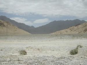 Near the Pakistan Afghanistan border