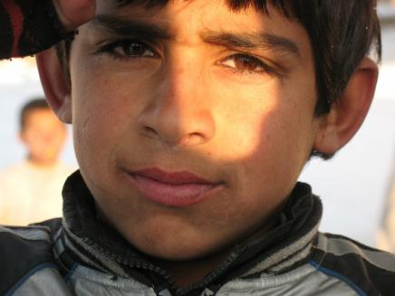 A boy living at the Darlaman Refugee Camp. Photo Credit: Martha Hennessy