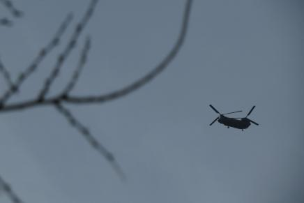 Helicopter Over Kabul