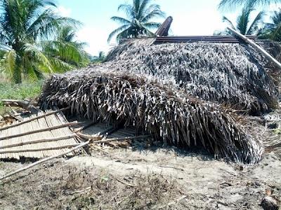 Demolished House: Photo by La Voz de Los de Abajo