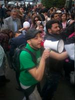 Protest at the Egyptian Journalism Syndicate