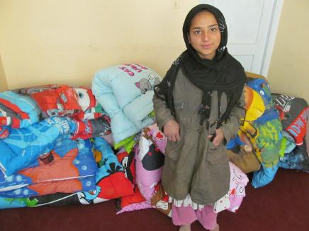 Samia With Duvets