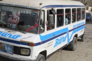 A Minibus in Kabul