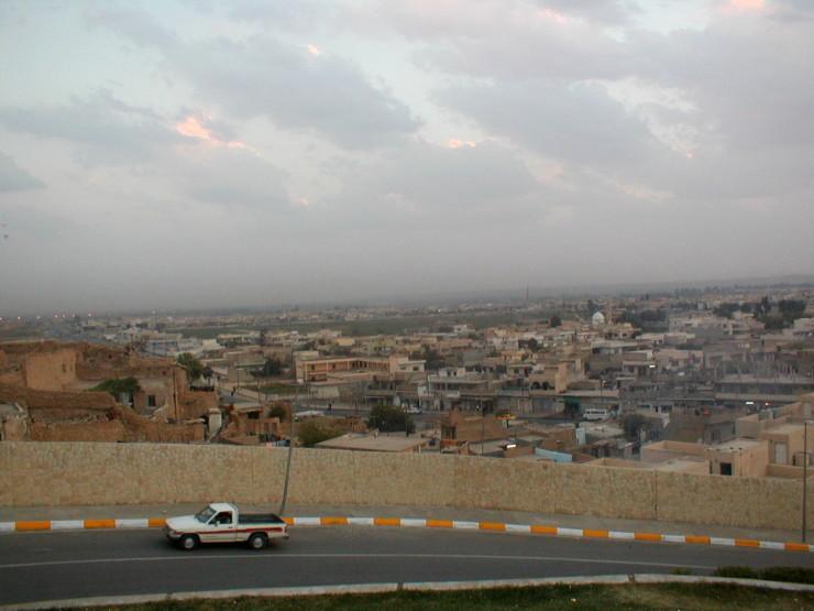 city view - mosul