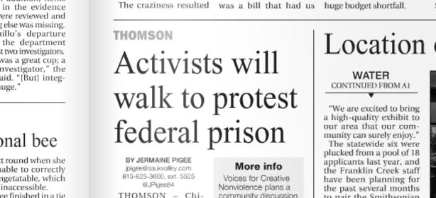 headline closeup
