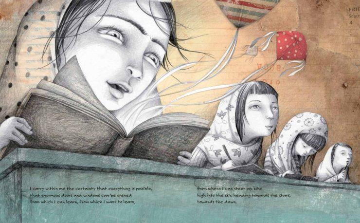 Zarghuna, Sonja Wimmer illustration