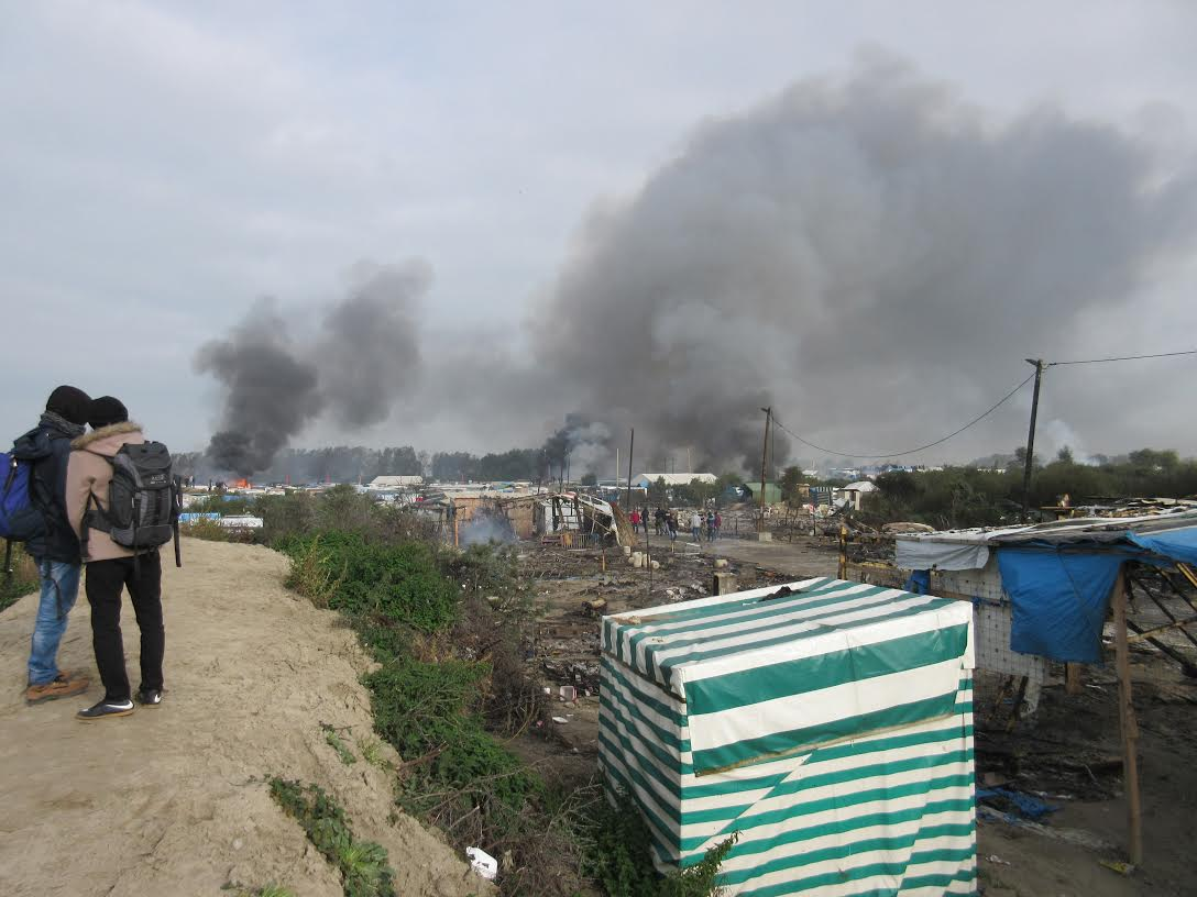 "In the ""Jungle"": Report from the Refugee Camp in Calais, France"