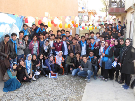 20 Afghan Peace Volunteers March 2017