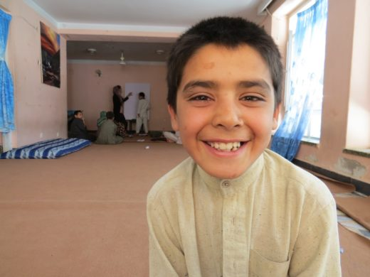 10-year-old street kid Mubasir - Photo credit Hakim